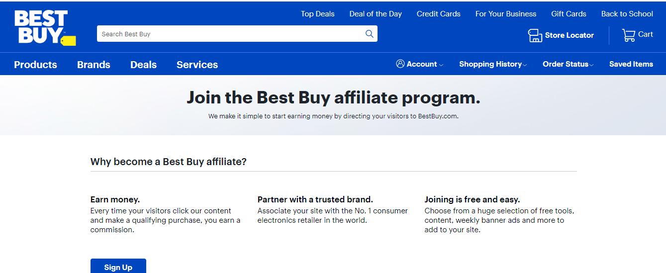 Best Buy Affiliate