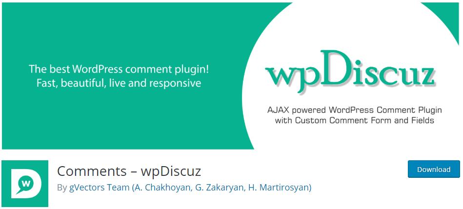 comments wpDiscuz