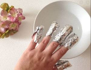 using aluminum foil