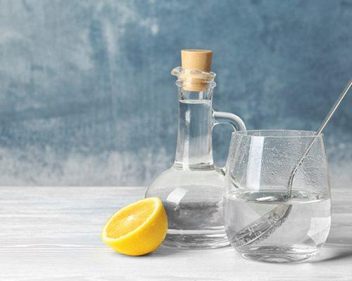 how to make nail polish remover at home using lemon and vinegar
