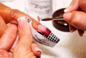 using acetone-free nail polish