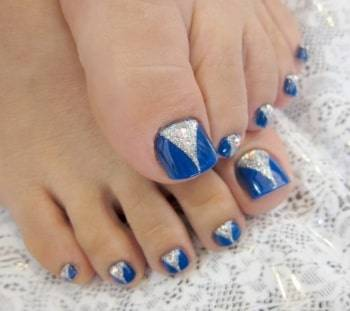 pedicure toe nail art