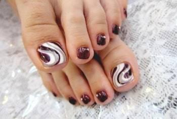 toe nail pretty design