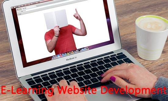 E-learning Website development