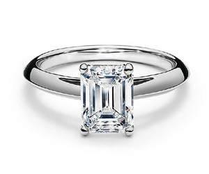Emerald-Cut Rings