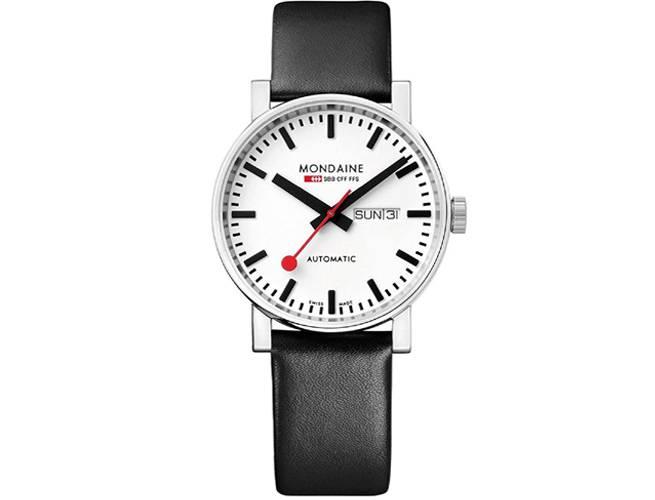 Mondaine Men Automatic Black Watch
