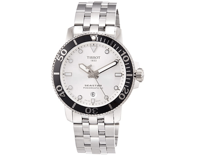 Tissot Seastar 1000 Automatic Silver watch